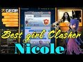 Nicole 5802 Live Ladder Push  | best girl player ever