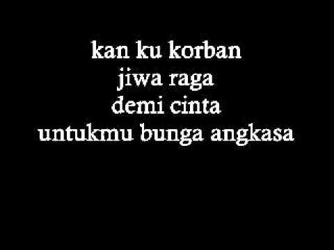 TERRAROSSA - Bunga Angkasa lirik [HD]