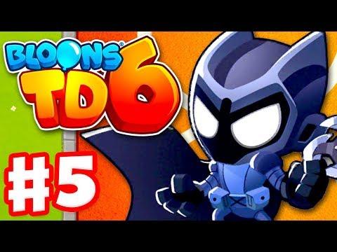 Legend of the Night! Tier 5 Super Monkey! - Bloons TD 6 - Gameplay Walkthrough Part 5