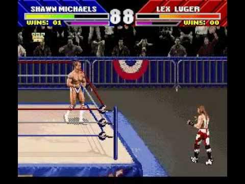 Wwf Wrestlemania The Arcade Game Wwe Snes Gameplay Youtube