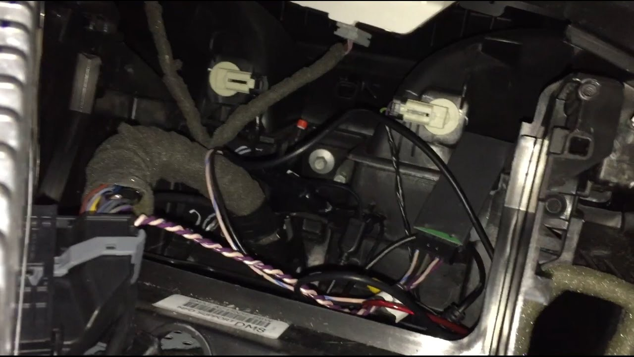 Ford Focus Center Console Wiring Diagram Diagrams 2008 Engine Removal Youtube Rh Com Radio Harness
