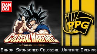 EXCLUSIVE Bandai Sponsored Package Colossal Warfare!