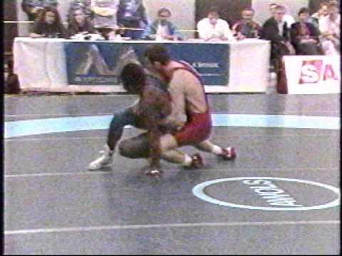 1992 Pan-American Championships: 62 kg Marty Calder (CAN) vs. Lazaro Reinoso Martinez (CUB)
