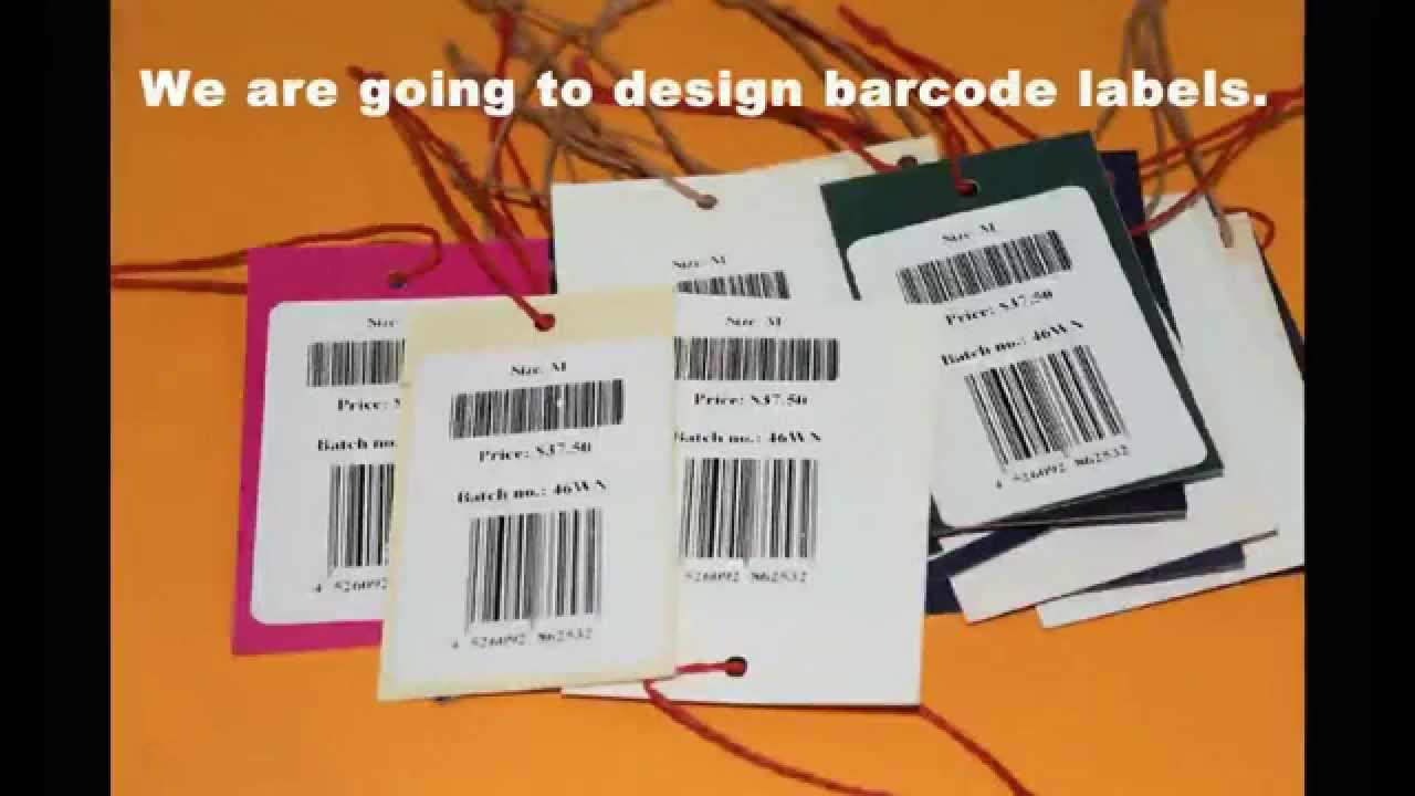 Data Tagging: Information About How To Design And Print Barcode Labels