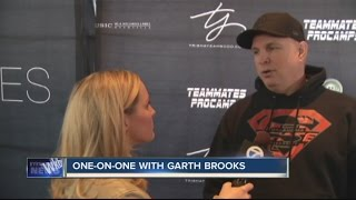 Garth Brooks plays his first of six Buffalo concerts tonight