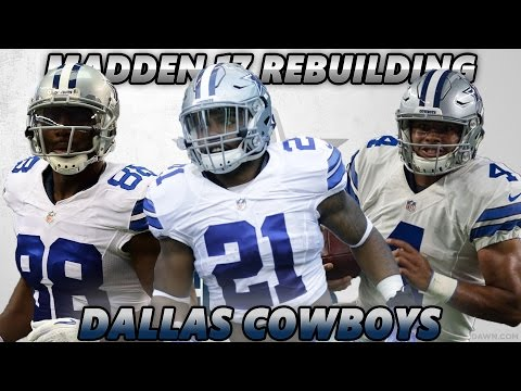 Madden 17 Connected Franchise | Rebuilding The Dallas Cowboys | AMERICAS TEAM?!!