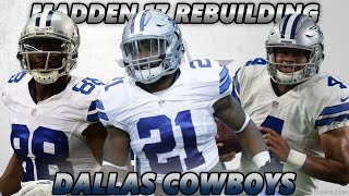 Madden 17 Connected Franchise | Rebuilding The Dallas Cowboys | EZEKIEL ELLIOTT ROOKIE OF THE YEAR!