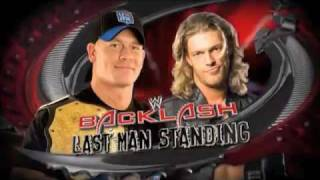 John Cena vs Edge Backlash 2009 Promo