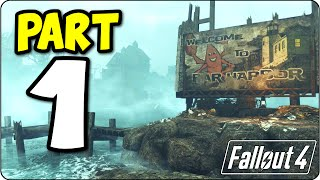 fallout 4 far harbor add on dlc let s play walkthrough part 1 ps4 edition fo4 gameplay