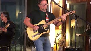 Sugarfoot Rag Live Hank Garland Cover - Brent Mason and John Carroll at Orb Recording Studios in Aus
