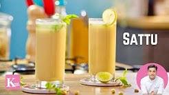 What is Sattu | Chana Sattu Drink Jau Sattu Drink Benefits | Kunal Kapur Summer Drink Recipes सत्तू