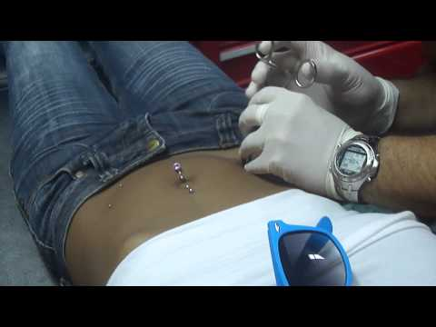My hip piercing!