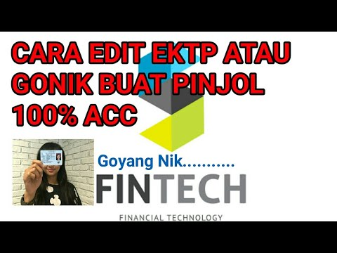 Download EDIT KTP & GONIK BUAT PINJOL