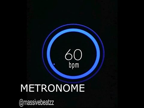 60 BPM (Beats Per Minute) Metronome Click Track [HiQ]