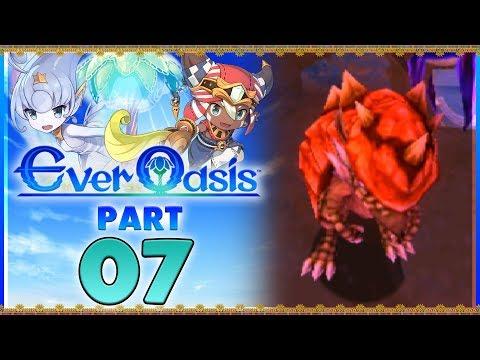 Ever Oasis - Part 7   Ostraka Ruins! [New Nintendo 3DS Gameplay]