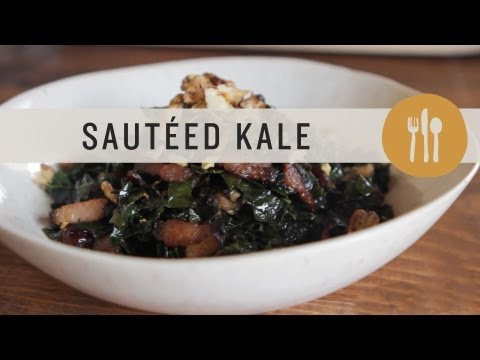 How you can Saute Kale, Bacon, and Tomato plants