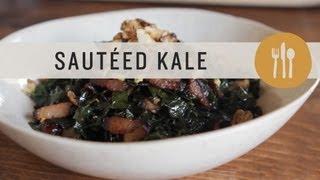 Sauteed Kale - Superfoods