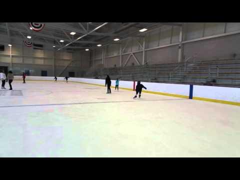 George Mackinnon Stride 2/2016  ice hockey Revere Massachusetts rink