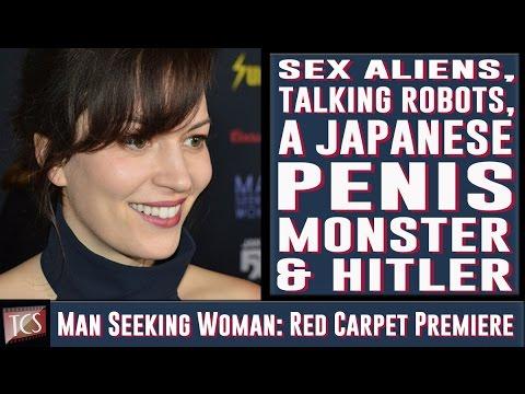 Man Seeking Woman: Series Premiere Red Carpet Interviews - Jay Baruchel, Britt Lower, Eric Andre