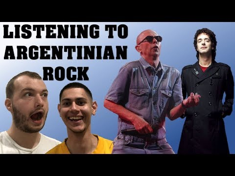 Listening to Argentinian Rock for the first time - reaction and review