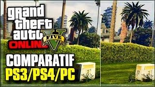 GTA 5 ONLINE : COMPARATIF PS3/PS4/PC !