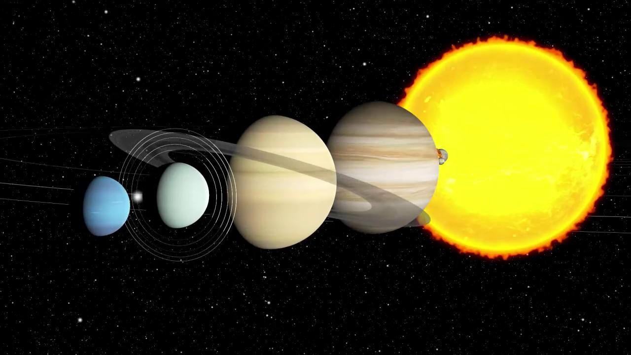 Планеты солнечной системы гифы