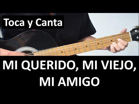 Como tocar MI QUERIDO, MI VIEJO, MI AMIGO de Roberto Carlos.