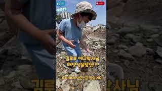 루루TV 김루루 에그박사 해양생물 부산 바닷가 꽃게,조…