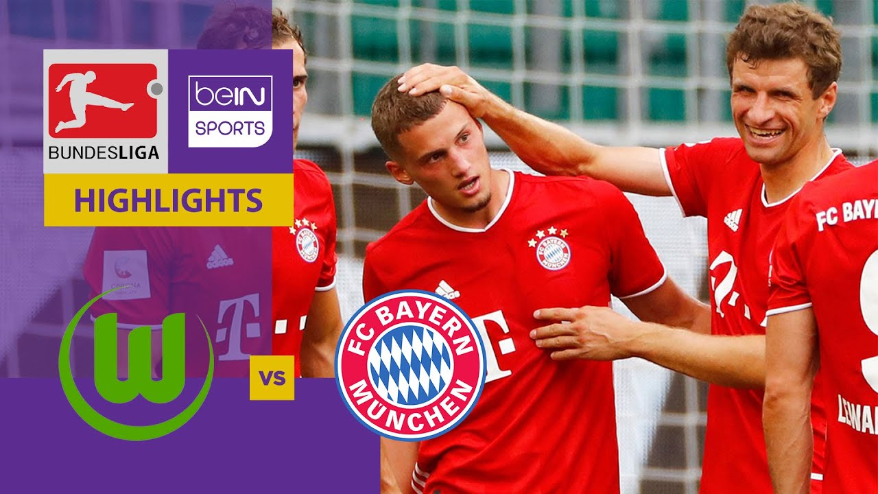 Bayern Wolfsburg Highlights