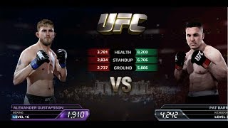 UFC EA Sports Boxing Alexander Gustafsson Gameplay