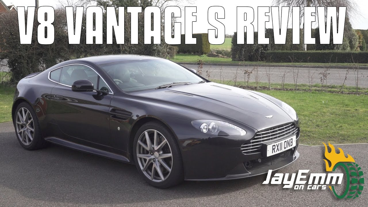 Aston Martin V8 Vantage S Review - YouTube