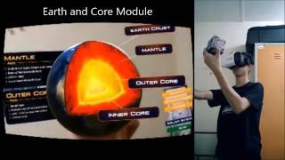 Learning Earth and Solar System using AR and VR Experience - (Sanbrons)