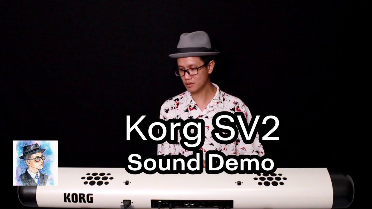 Korg SV2 Piano Sound Demo (No Talk) by ตองพี