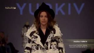 Показ    NADIA YURKIV, Ukrainian Fashion Week, Осень Зима  2016 17
