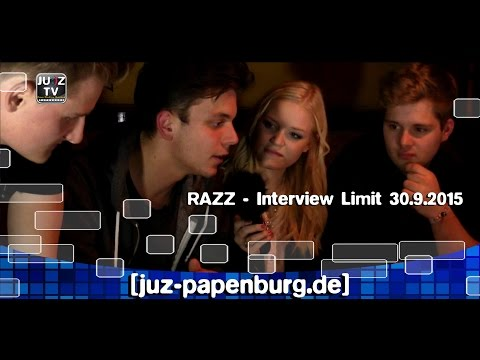 Razz Interview im Limit Ihrhove Oktober 2015