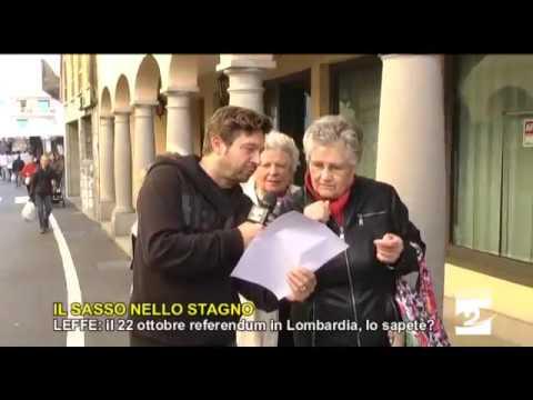 Leffe: il 22 ottobre referendum in Lombardia, lo sapete?