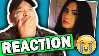 Demi Lovato - Sober (Lyric Video) REACTION