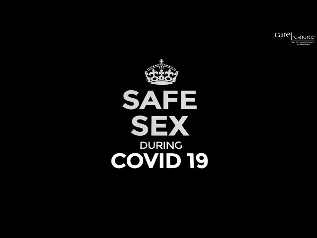 The Health Connection - Safe Sex pendant Covid 19