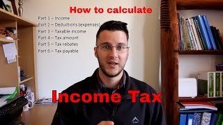How to calculate income tax - South Africa 2018