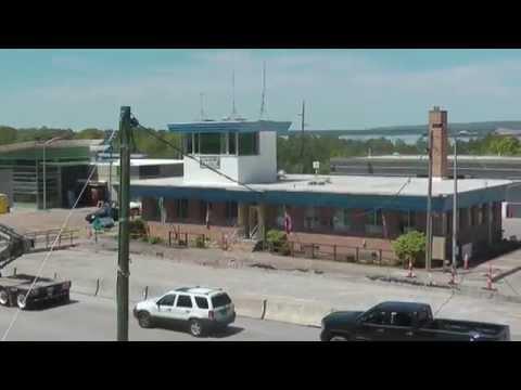 International Bridge Toll Plaza Construction Update #4