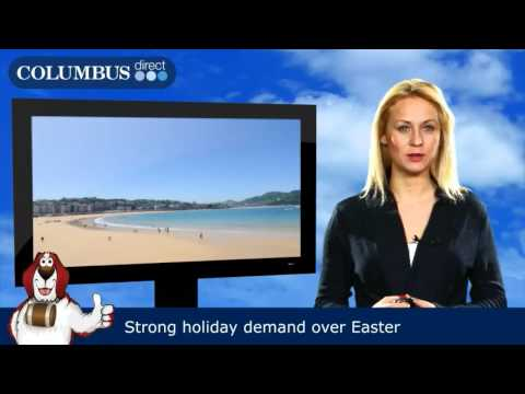 Strong holiday demand over Easter