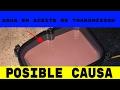 Lo que no Sabes  sobre el aceite de  Transmision!! (Rosa o Rojo?)