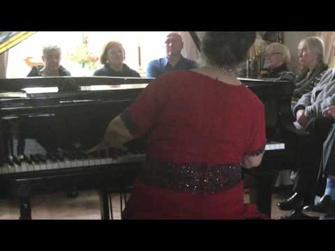Marcella Crudeli plays F. Schubert: Impromptu op.90 n.2 - Concert in Berlin