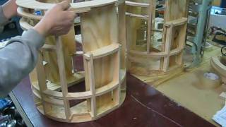R2-D2 Senna Wooden Frame assembly