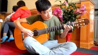 Yesterday - The beatles (Dương Sang cover guitar)