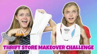 Thrift Store Makeover Challenge ~ Jacy and Kacy