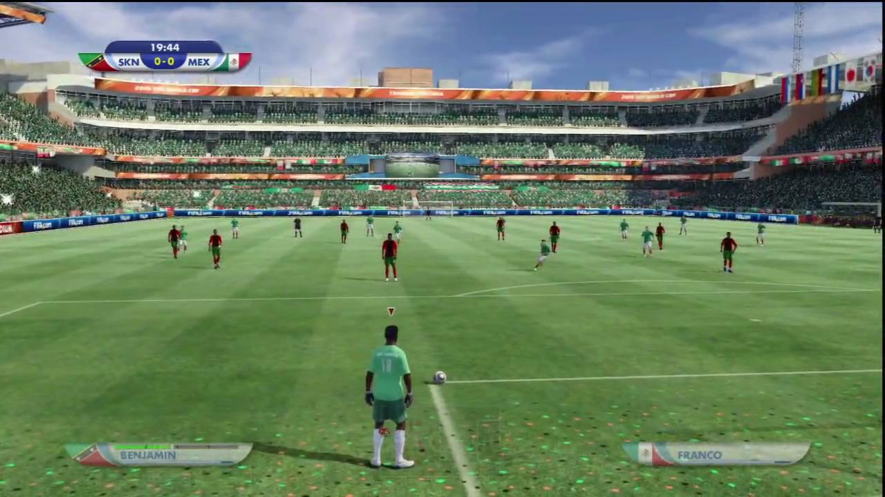 2010 Fifa World Cup Ps3 Online Gameplay St Kitts Vs