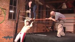 WAW Hellbound 2014 Part 2: Dog Collar Match; MKK v Delilah Hayden