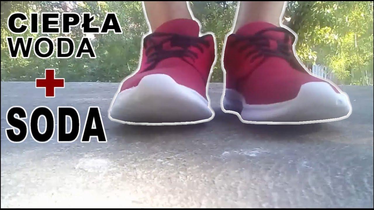 Czyszczenie Butow Soda Czyli Jak Skutecznie Czyscic Buty Cleaning Shoes With Soda Youtube