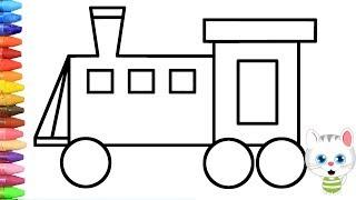Eisenbahn Einfach Malen Cmgdigitalstudios